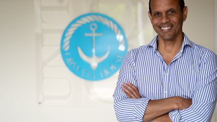 Felixstowe logistics firm Transmode director Hussein Ahmed Picture: MIKE WILSON/STRATEGIQ