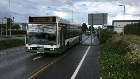 Ipswich Buses has launched a new app. Picture: PAUL GEATER
