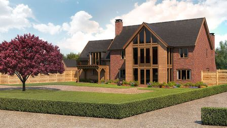 This plot of land in Fynn Valley could have a 4-bedroom home of your design for just £425,000 Pictur