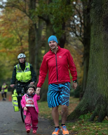 Runners of all ages took part in the MoRun at Chantry Park Picture: SARAH LUCY BROWN
