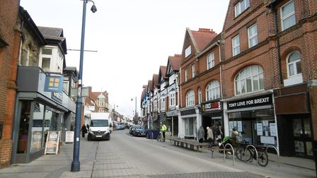 A well-known brand is set to return to a Suffolk high street Picture: DAVID VINCENT