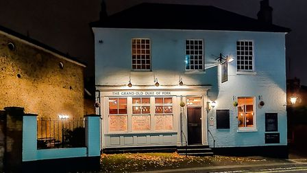 The Grand Old Duke pub in Woodbridge Road, Ipswich, which is reopening and will mainly be known as T