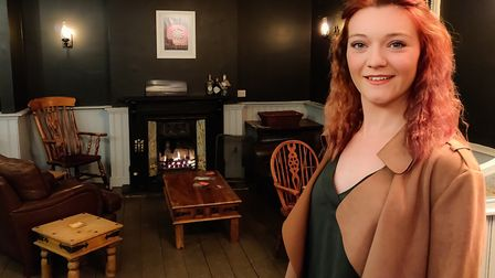 Hannah Creed, manager of the Duke pub, which has just reopened on Woodbridge Road in Ipswich Picture