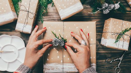 Presents! Does a donation to a charity lurk inside? Picture: Getty Images/iStockphoto