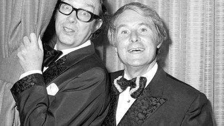 Morecambe and Wise Christmas shows (repeated) continued to be popular fixtures in the festive TV sch