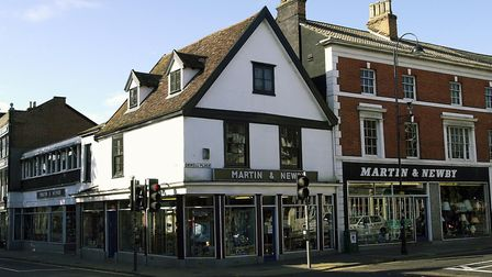 Martin and Newby - a legendary Ipswich store. It was still open in 1999, but shut for good in 2004