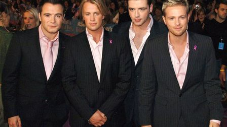 Westlife topped the singles chart at Christmas, 1999 Picture: Ian West/PA