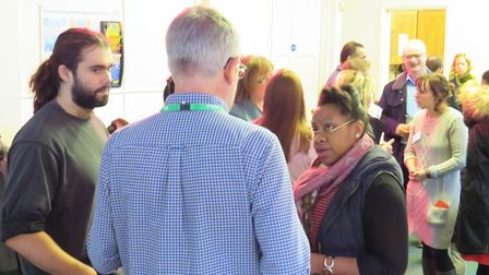 A new MENTA training programme to encourage and train refugee entrepreneurs was launched in Ipswich