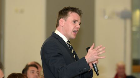 Conservative Tom Hunt is ahead according to our survey. Picture: SARAH LUCY BROWN