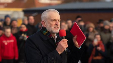 Could Jeremy Corbyn cost Sandy Martin victory in the Ipswich seat? Picture: Joe Giddens/PA Wire