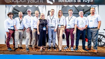 The team at Holbrook-based Superyacht Tenders and Toys (SYTT), which was ranked 95th in a Sunday Tim