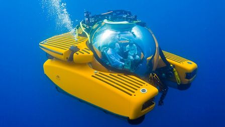A Superyacht Tenders & Toys submarine Picture: SUPERYACHT TENDERS AND TOYS