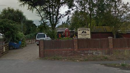 The land previously used by Woodside Luxury Boarding Cattery has been put up for sale Picture: GOOG