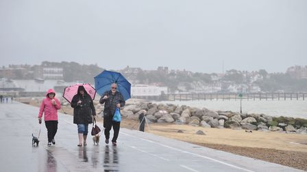 Wet and windy weather is on the way Picture: SARAH LUCY BROWN