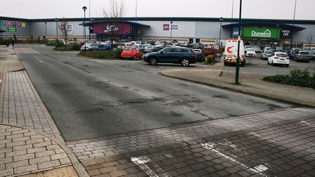 The Anglia Retail park is home to shops and restaurants including The Range, Dunelm, KFC and Pizza H
