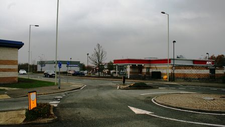 The entrance to Anglia Retail Park near ASDA in Ipswich Picture: ARCHANT
