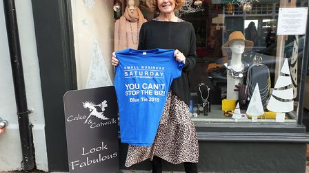 Lynn Turner, owner of Cake and Catwalk, supported Small Business Saturday this weekend Picture: ARCH