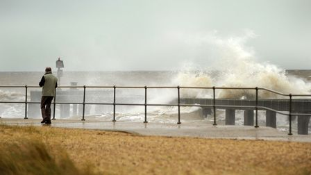 It's another windy day in Suffolk Picture: SIMON PARKER
