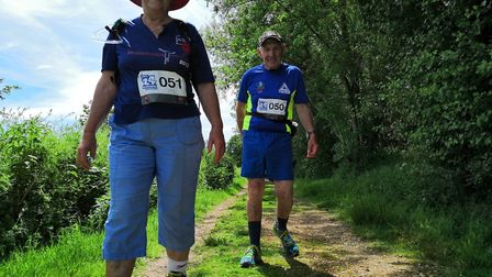 ROC24 2019 participants Keith and Meryl. Picture: RUN OR CYCLE EVENTS