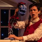 Genevieve Clarke and Ailis Duff in Red Rose Chain's sparkling Christmas show The Magic Fishbone by J