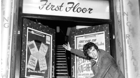 The Bloom Lounge is opening in the former First Floor Club, which is pictured here with Radio One DJ