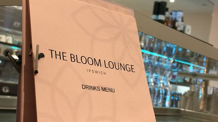 The bar at the Bloom Lounge in Tacket Street Ipswich Picture: Neil Perry / Archant