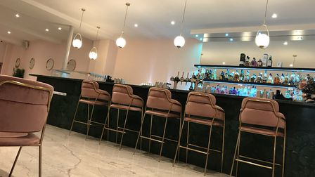 The brand new bar area inside the Bloom Lounge in Tacket Street Ipswich Picture: Neil Perry / Archa