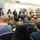 The hustings with the Ipswich Parliamentary candidates at Northgate High School. Picture: JO WARD