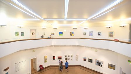 Ipswich Art Gallery will close for around two weeks next year for roof replacement work. Picture: GR