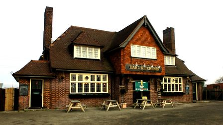 The Earl Kitchener pub in Ipswich. Picture: RICHARD SNASDELL