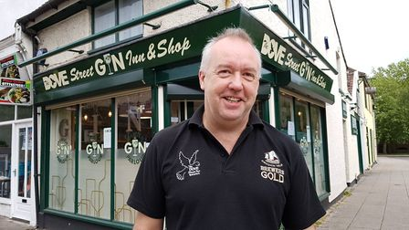 Owner and Landlord Ady Smith of the Ipswich Gin Parlour. Picture: RACHEL EDGE