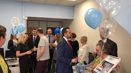 The official opening party at Woodward Markwell Picture: WOODWARD MARKWELL