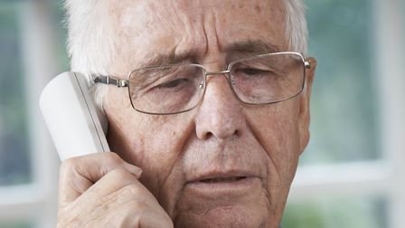 Ipswich Borough Council has received a report of scam callers asking to inspect one resident's alarm
