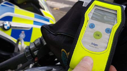 Suffolk police had made 161 arrests by New Year's Day as part of an annual campaign against drink an
