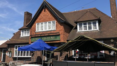 The Earl Kitchener pub in Hadleigh Road will be rethinking its Saturday night music nights after ann