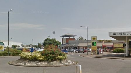 The attack happened near the Morrisons supermarket in Sproughton Road, Ipswich Picture: GOOGLE MAPS