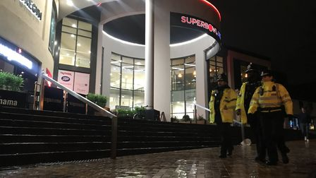 The night time economy team were out in force in Ipswich on Saturday night, the busiest night of the