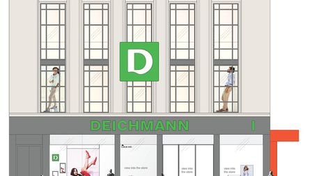 German shoe retailer Deichmann is set to take over the Tavern Street store currently occupied by Bur