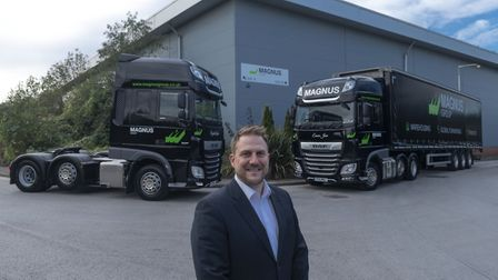 Olly Magnus, who heads up family logistics firm Magnus Group Picture: SWALLOW MARKETING