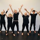 Performing arts students at Suffolk New College during their winter showcase Picture: SUFFOLK NEW CO