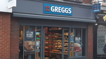 Greggs in Upper Brook Street Picture: JUDY RIMMER