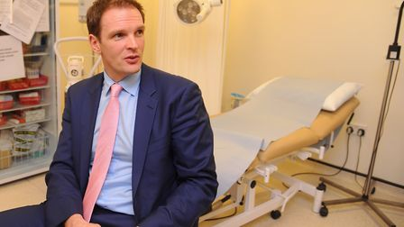 Dr Dan Poulter said he is confident in the leadership team and hopes the trust will be rated 'good'