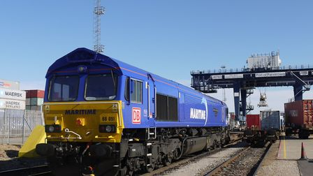 A new daily rail service has been introduced from Hutchison Ports Port of Felixstowe to Maritime Tra