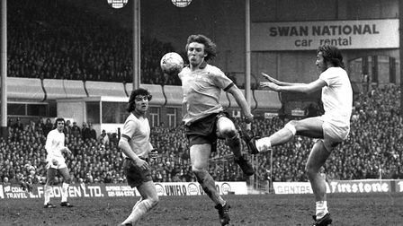 A statue of Ipswich Town legend Kevin Beattie has secured planning permission. Picture: ARCHANT