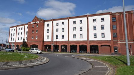The Novotel hotel in Ipswich. Pictire: ARCHANT LIBRARY