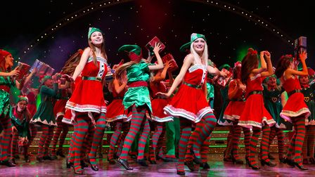 The Co-op Juniors celebrate 15 years at Snape Maltings with their 2019 Christmas Spectacular Photo: