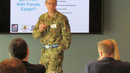 The Good Business and the Armed Forces event coordinated by Suffolk County Council and 6 Regiment Ar