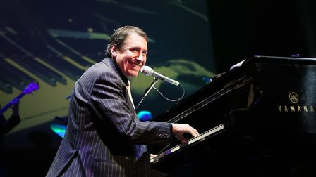 Jools Holland who is bringing his Rhythm and Blues Orchestra to the Ipswich Regent in November Phot