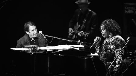 Jools Holland and Ruby Turner who will be performing at the Ipswich Regent in November Photo: Chri