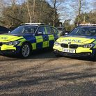 Operation Sentinel's marked BMW 330 police cars Picture: VICTORIA PERTUSA
